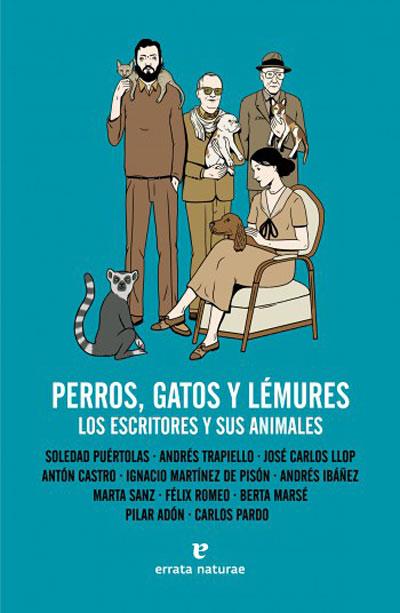 Perros, gatos y lémures. Los escritores y sus animales