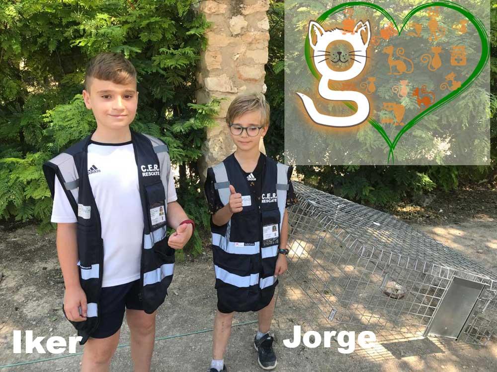 Jorge e Iker Cuidadores en RED